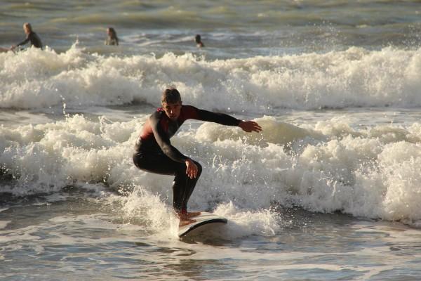 Levanto e il surf, storia di una passione contagiosa